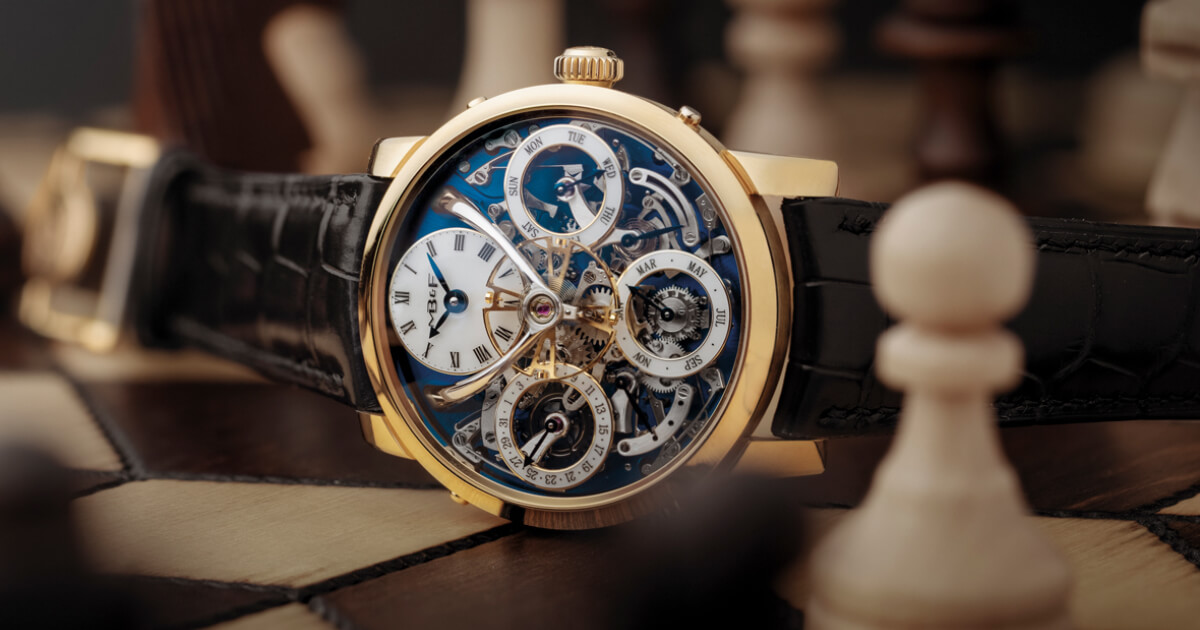 MB&F Legacy Machine Perpetual In Yellow Gold (Price, Pictures and Specifications)