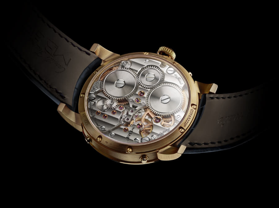 MB&F Legacy Machine Perpetual In Yellow Gold Movement