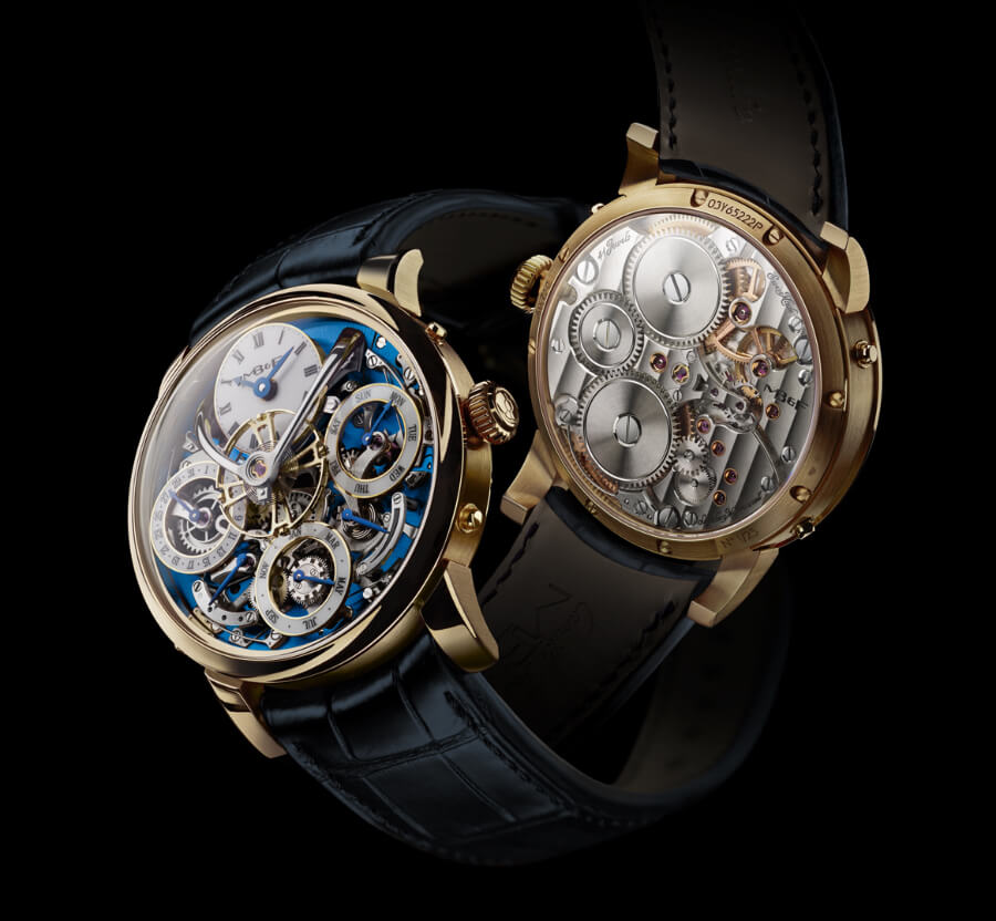 Men Watch MB&F Legacy Machine Perpetual In Yellow Gold