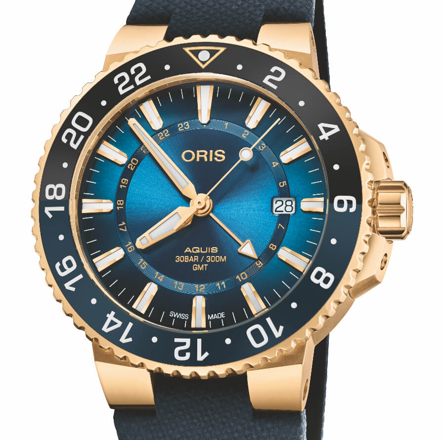 Oris Carysfort Reef Limited Edition Gold Watch