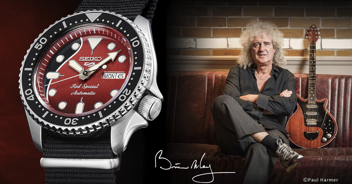 Seiko 5 Sports Brian May Limited Edition Ref. SRPE83K1 (Price, Pictures and Specifications)