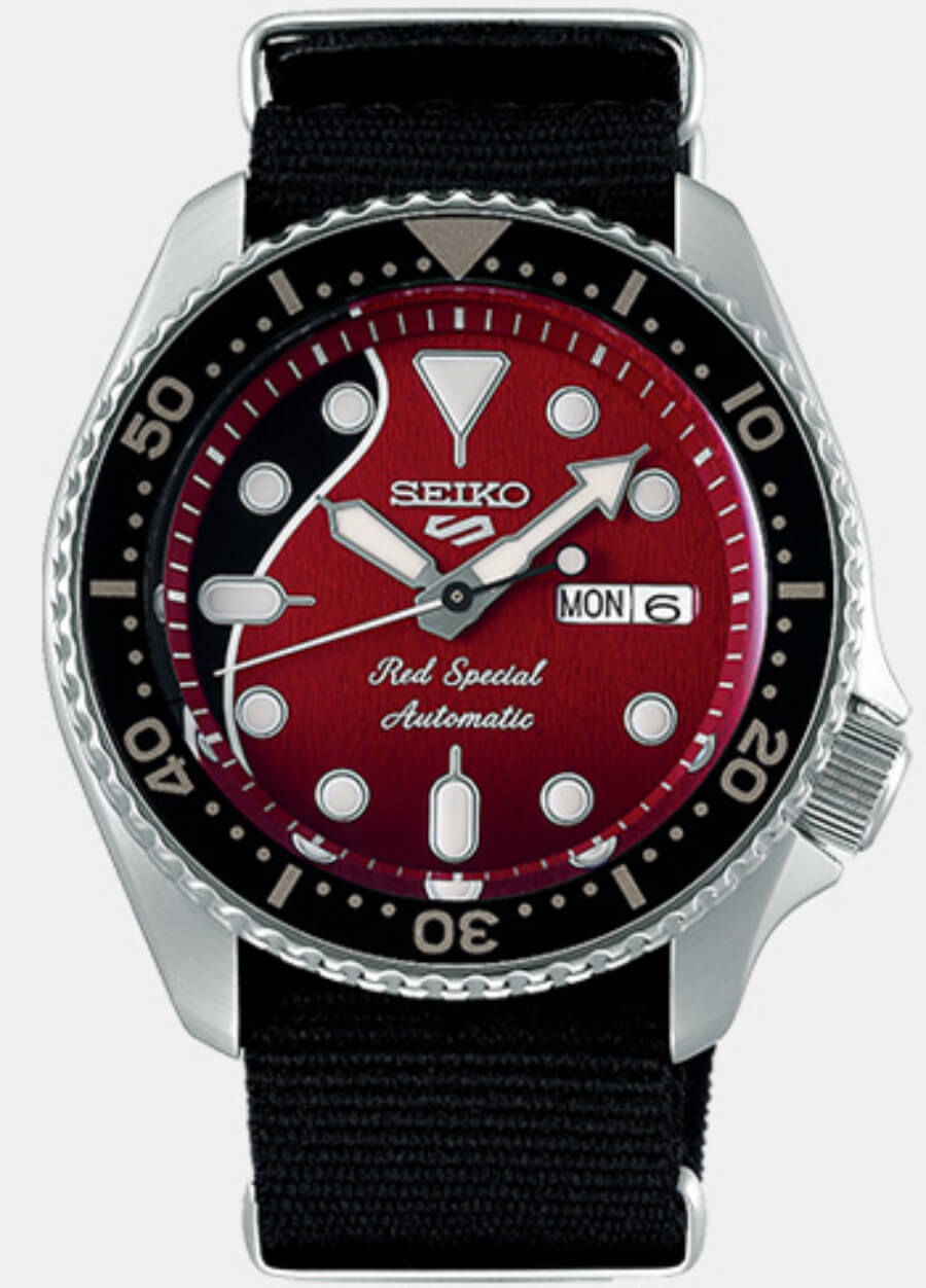 Seiko 5 Sports Brian May Limited Edition Ref. SRPE83K1
