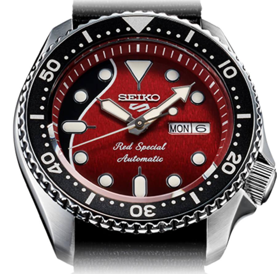 Seiko 5 Sports Red Dial