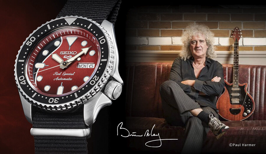 Seiko 5 Sports Brian May Limited Edition Ref. SRPE83K1 Watch Review
