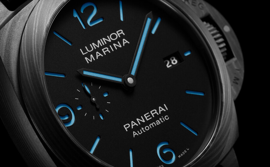 Panerai Luminor Marina Carbotech – 44 MM Dial