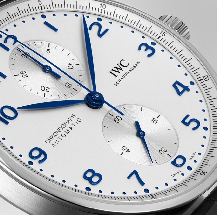 Best Men Watch IWC Portugieser Chronograph Dial