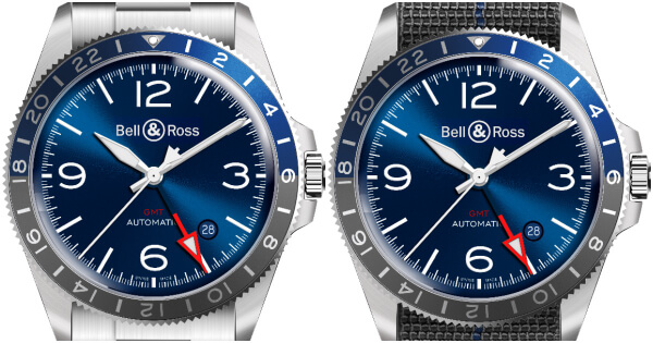 Bell & Ross BR V2-93 GMT Blue (Price, Pictures and Specifications)