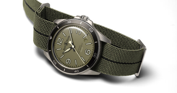 Bell & Ross BR V2-92 Military Green (Price, Pictures and Specification)