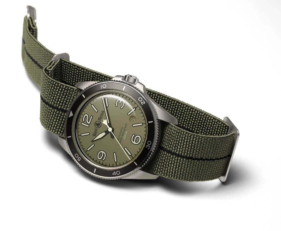 The New Bell & Ross BR V2-92 Military Green