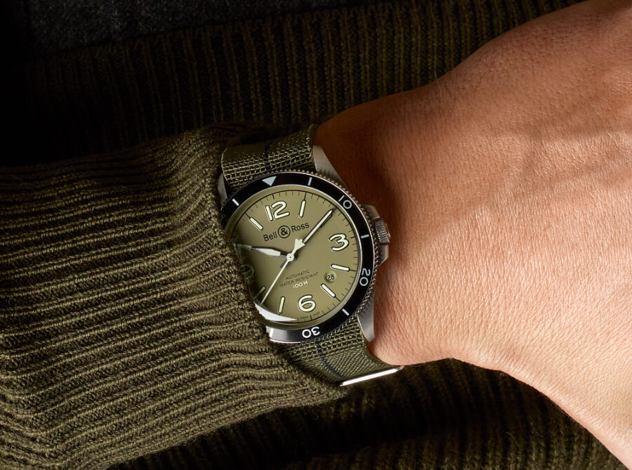 Bell & Ross BR V2-92 Military Green Watch Review