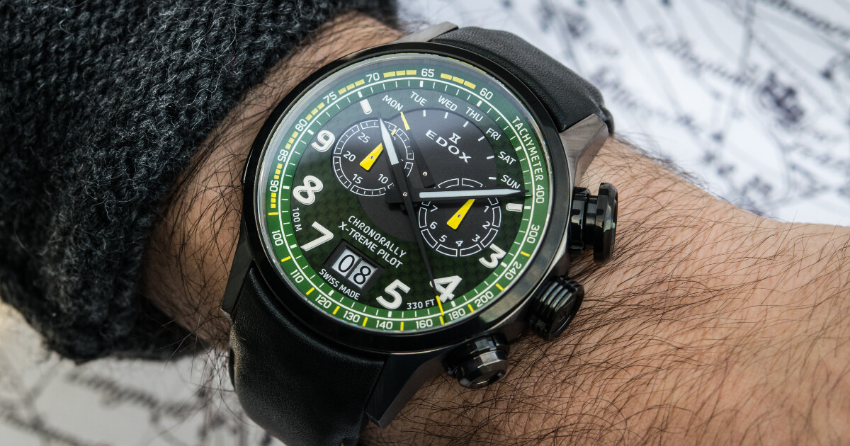 Edox Chronorally X-Treme Pilot Limited Edition (Price, Pictures and Specifications)