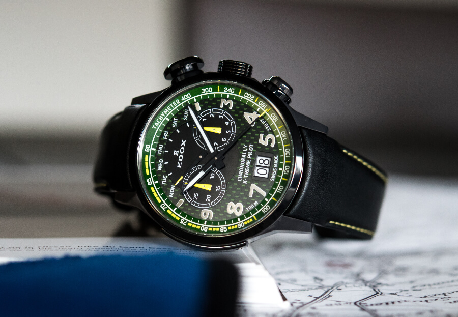 The New Edox Chronorally X-Treme Pilot Limited Edition