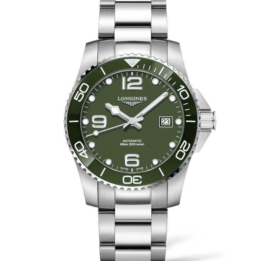 Longines HydroConquest Green Dial Boutique Edition