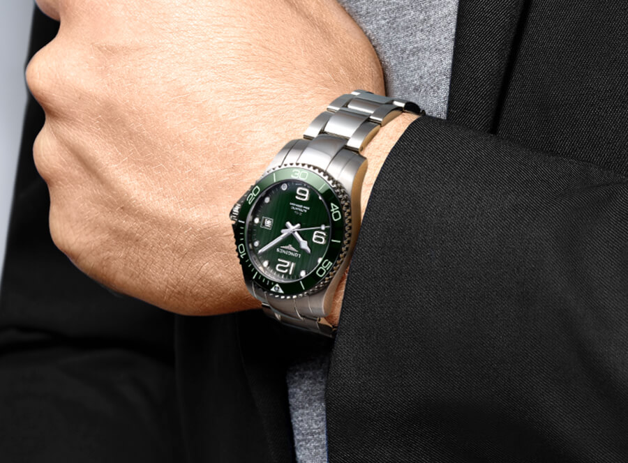 Longines HydroConquest Green Dial Boutique Edition Watch Review