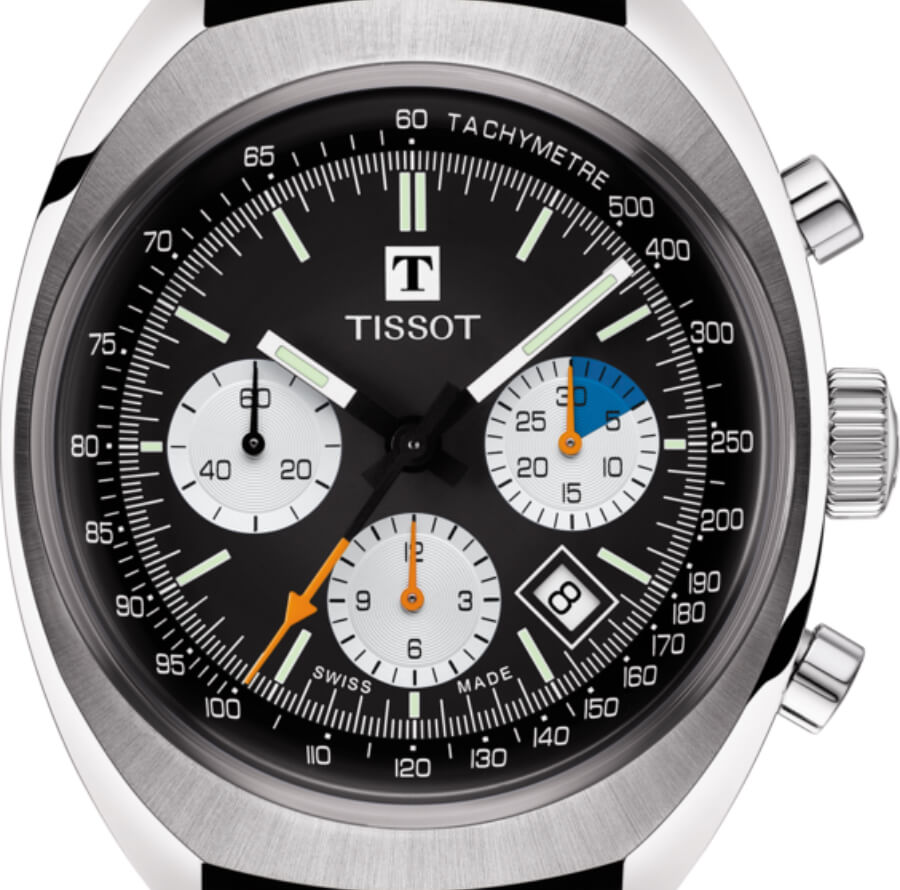 The New Tissot Heritage Navigator Chrono Auto 1973 2020 version