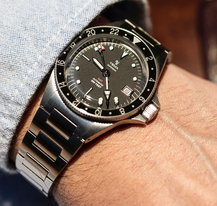 Yema Superman GMT Watch Review