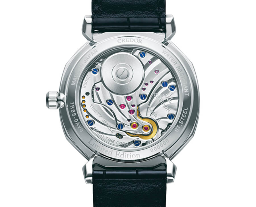 Credor Linealux GCLH975 Limited Edition Spring Drive Movement
