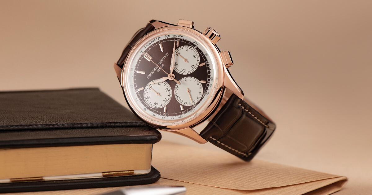 Introducing Two New Frederique Constant Flyback Chronograph Manufacture (Price, Pictures and Specifications)