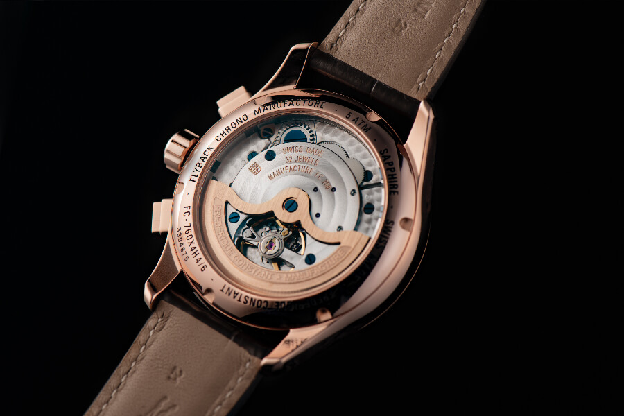 Frederique Constant Flyback Chronograph Manufacture Movement