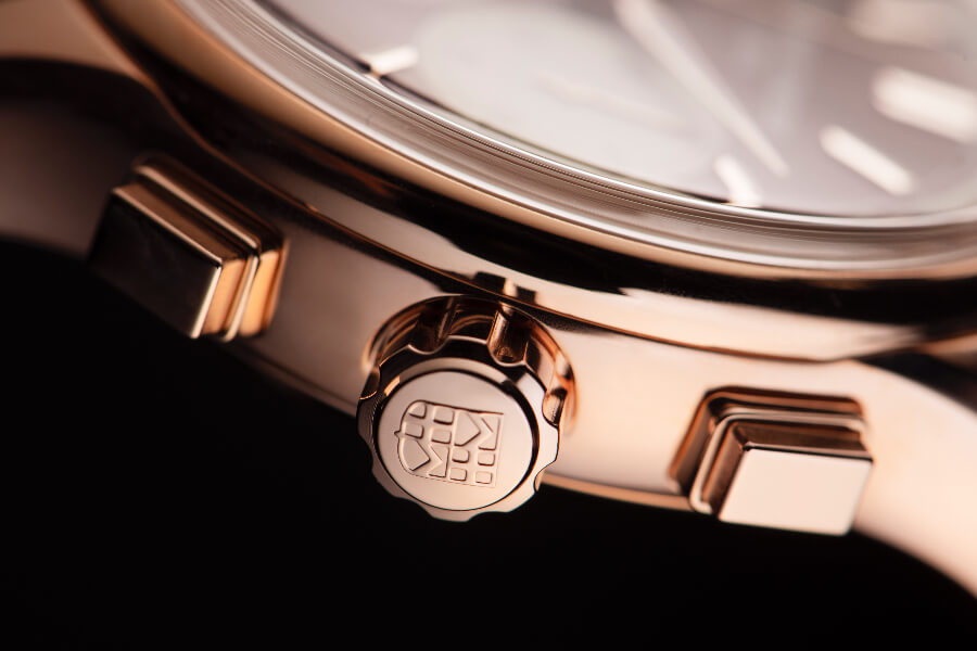 Frederique Constant Flyback Chronograph Manufacture Gold Case