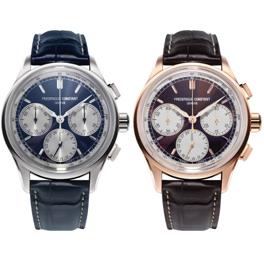 The New Frederique Constant Flyback Chronograph Manufacture