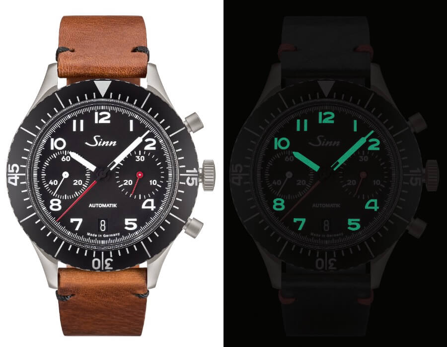 Sinn 158 Chronograph Watch