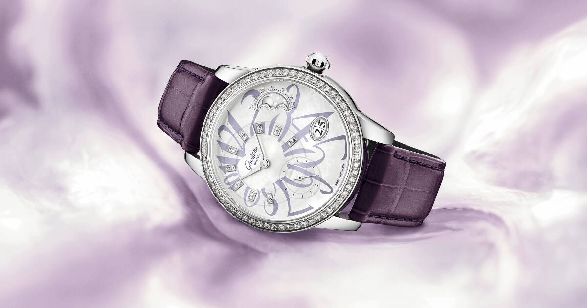The New Glashütte Original PanoMatic Luna Stainless Steel Limited Edition Ref. 1-90-12-06-12-01 (Price, Pictures and Specifications)