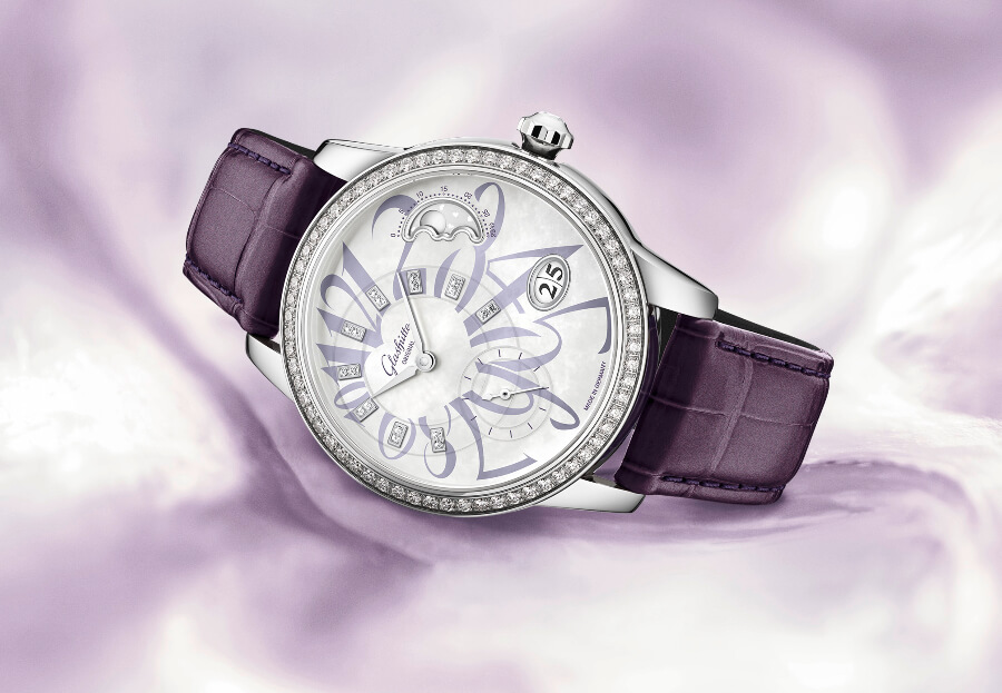 Glashütte Original PanoMatic Luna Stainless Steel Limited Edition Ref. 1-90-12-06-12-01 Watch Review