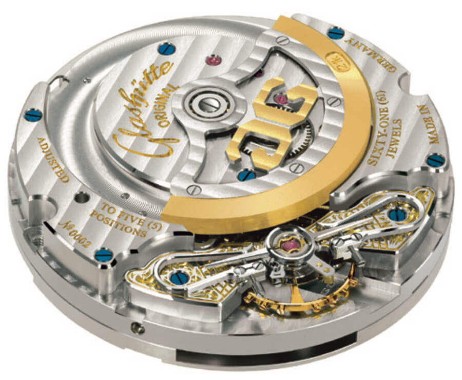Glashutte In House Movement Automatic