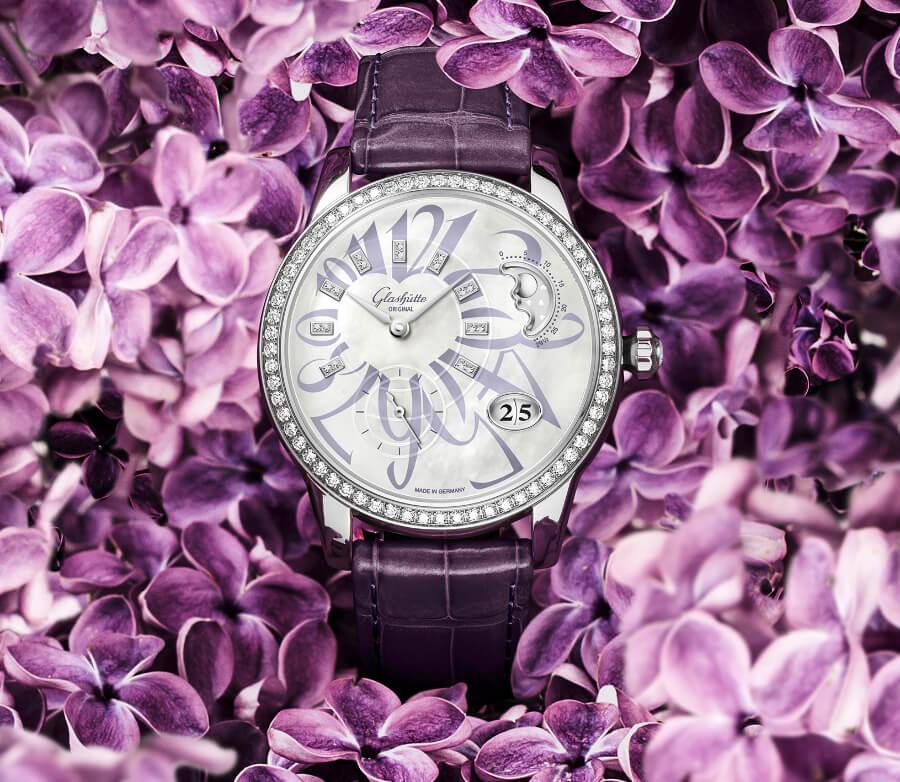 Glashutte Diamond Women Watch