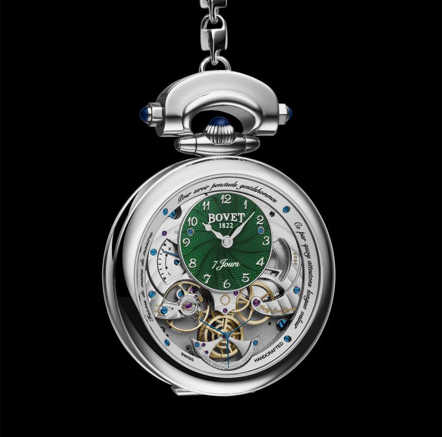Bovet Men Pocket Watch