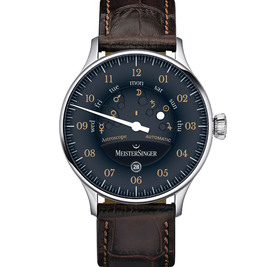 Best German Watch MeisterSinger Astroscope