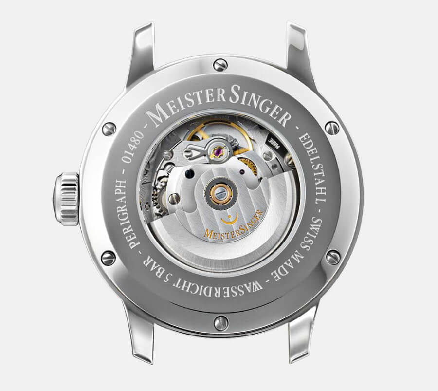 MeisterSinger Perigraph Watch Sellita Movement