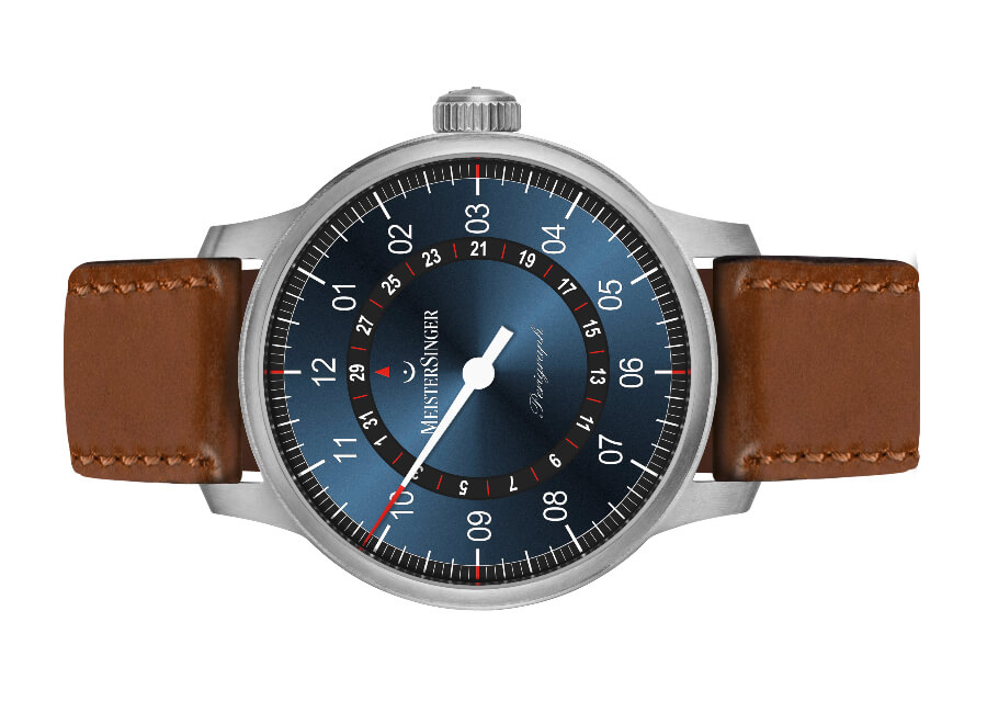Men Watch Blue Dial