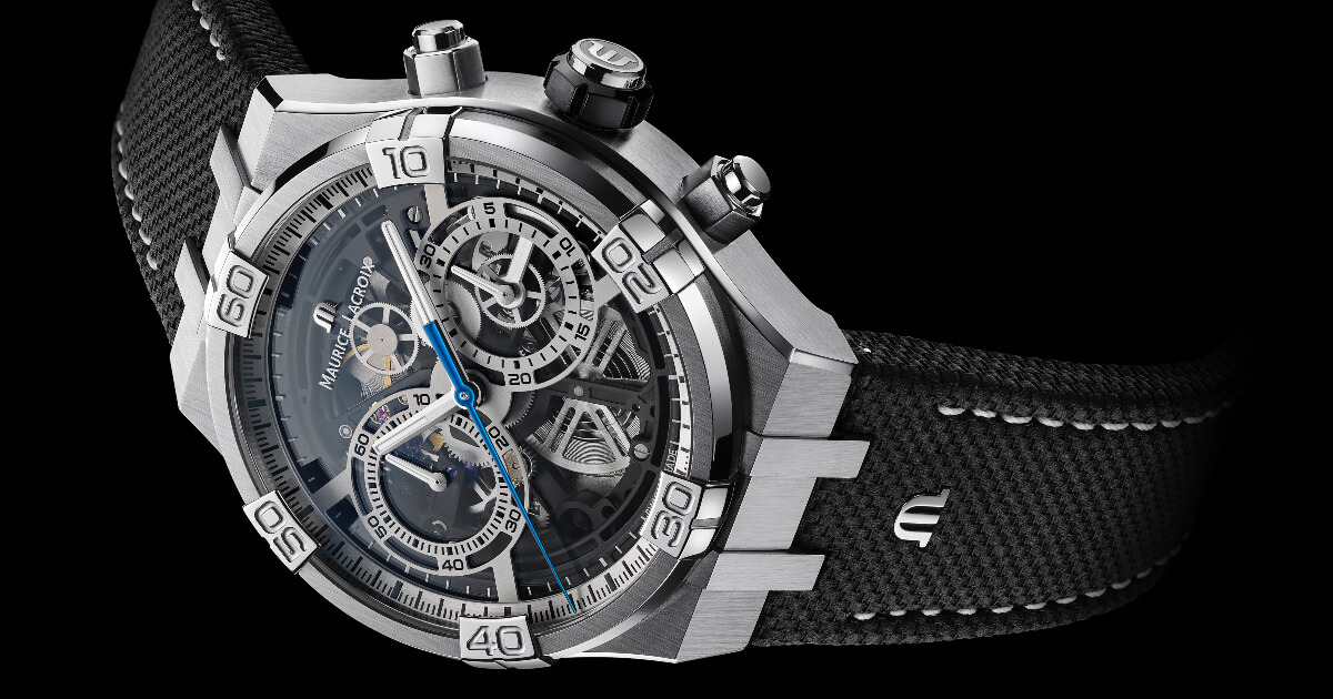 Maurice Lacroix Aikon Chronograph Skeleton (Price, Pictures and Specifications)