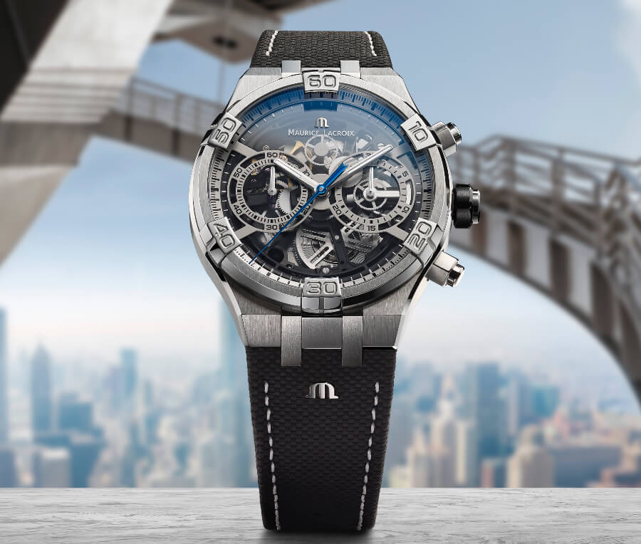 Maurice Lacroix Aikon Chronograph Skeleton Watch Review