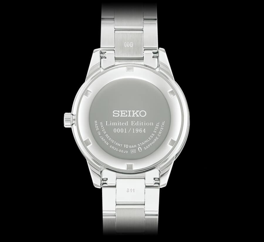 Seiko Presage Prestige Line 2020 Limited Edition Case Back