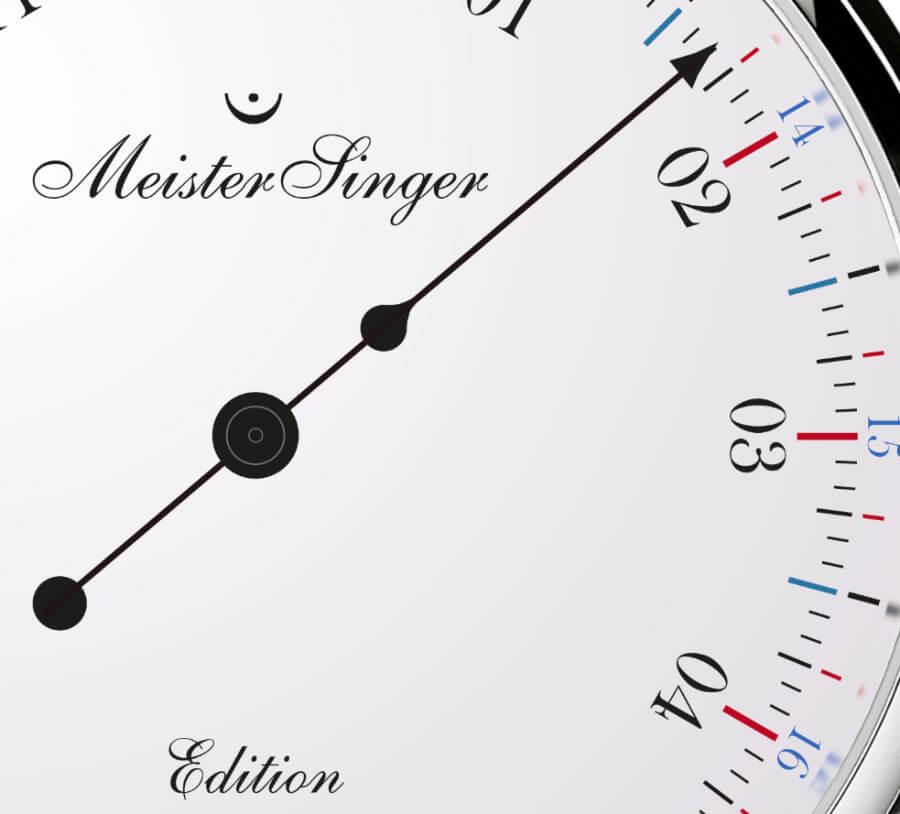 MeisterSinger Edition 366 Dial
