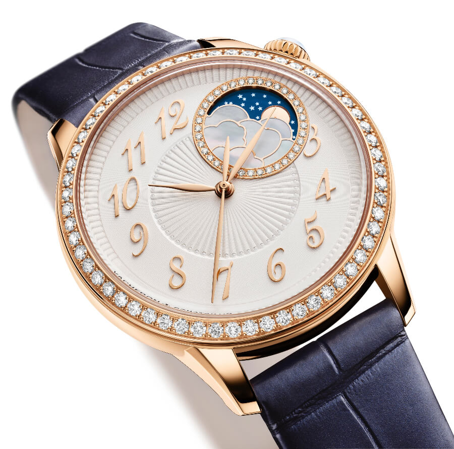 The New Vacheron Constantin Égérie Moon Phase
