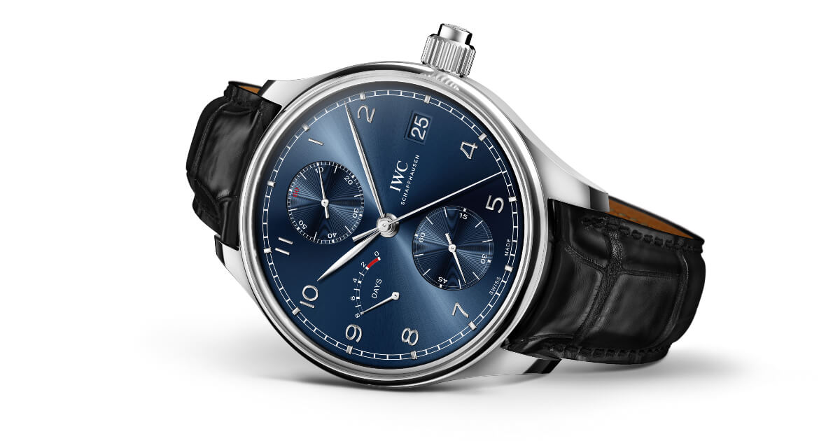 """IWC Portugieser Hand-Wound Monopusher Edition """"Laureus Sport For Good"""" (Price, Pictures and Specifications)"""
