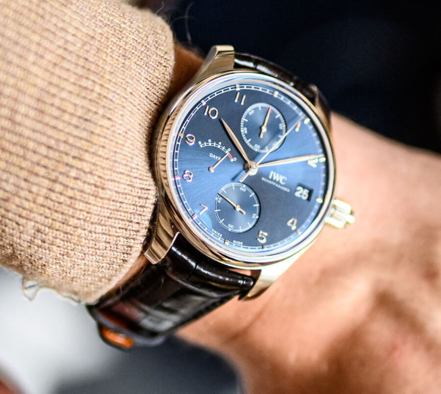 """IWC Portugieser Hand-Wound Monopusher Edition """"Laureus Sport For Good"""" Review Watches"""