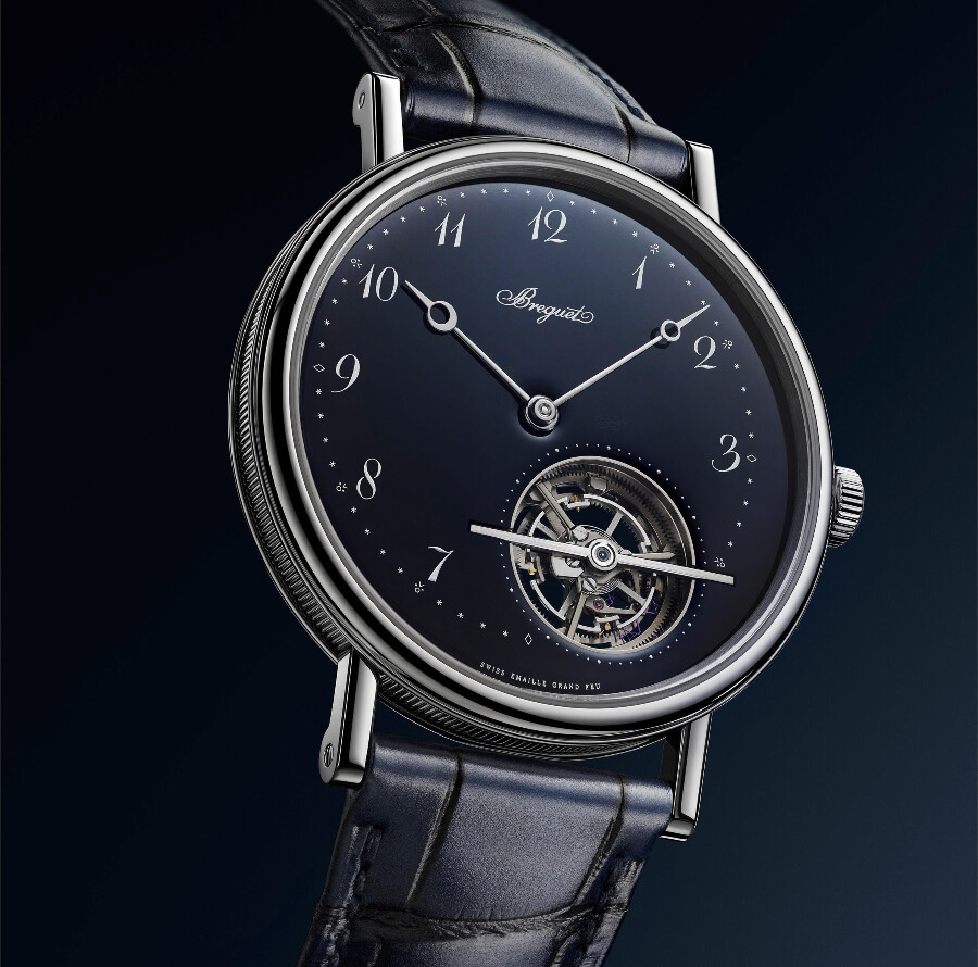 Breguet Men Blue Watch