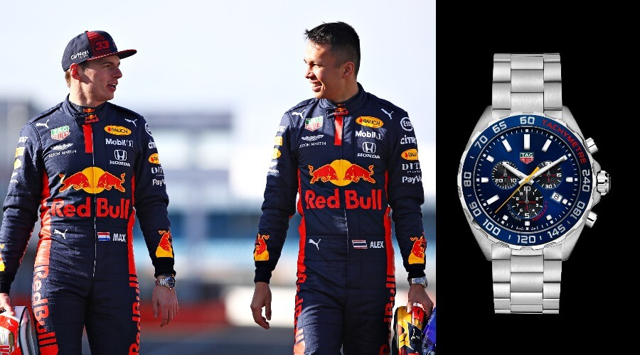 Max TAG Heuer Formula 1 Aston Martin Red Bull Racing Special Edition 2020