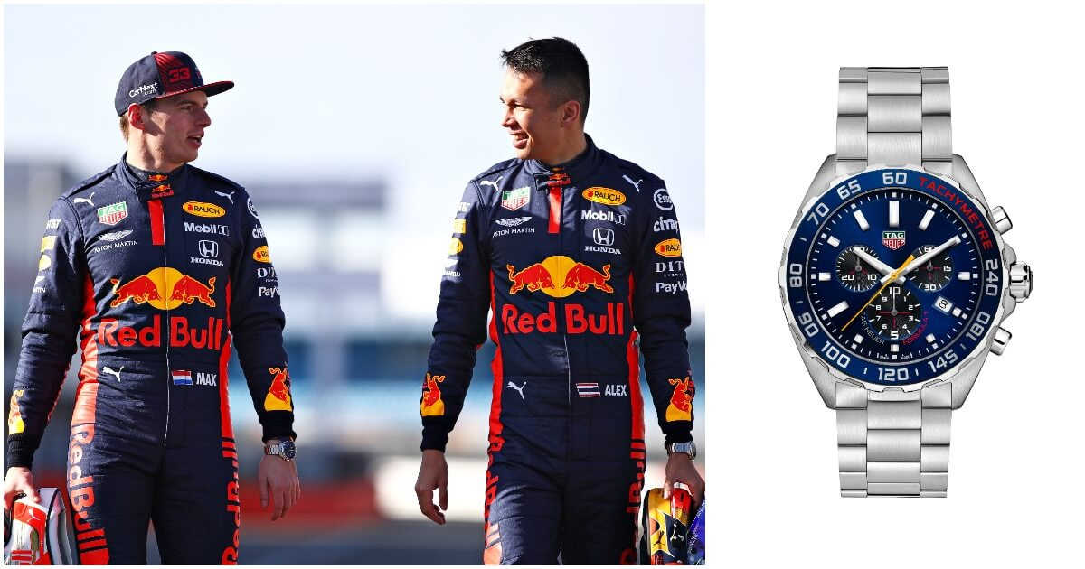 TAG Heuer Formula 1 Aston Martin Red Bull Racing Special Edition 2020 (Price, Pictures and Specifications)