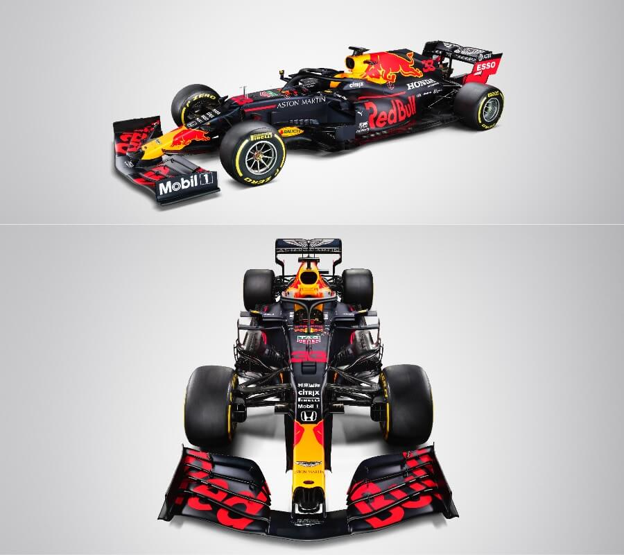 Formula 1 Aston Martin Red Bull Racing Car