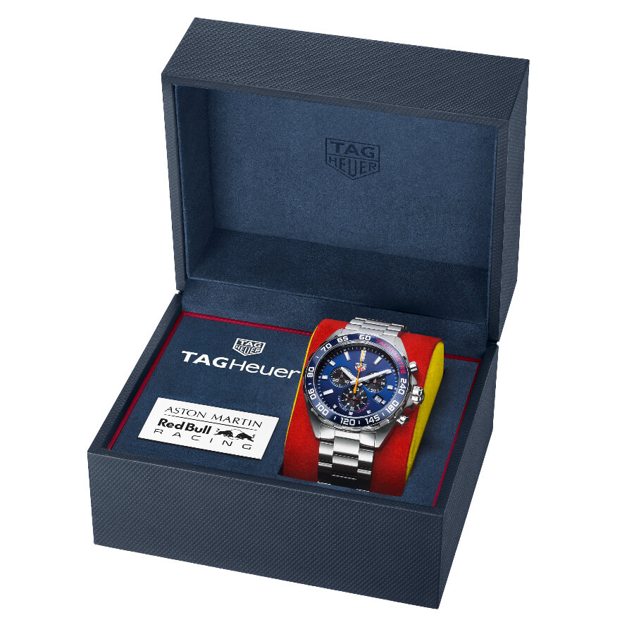 TAG Heuer Formula 1 Aston Martin Red Bull Racing Special Edition 2020 Full Box For Sale