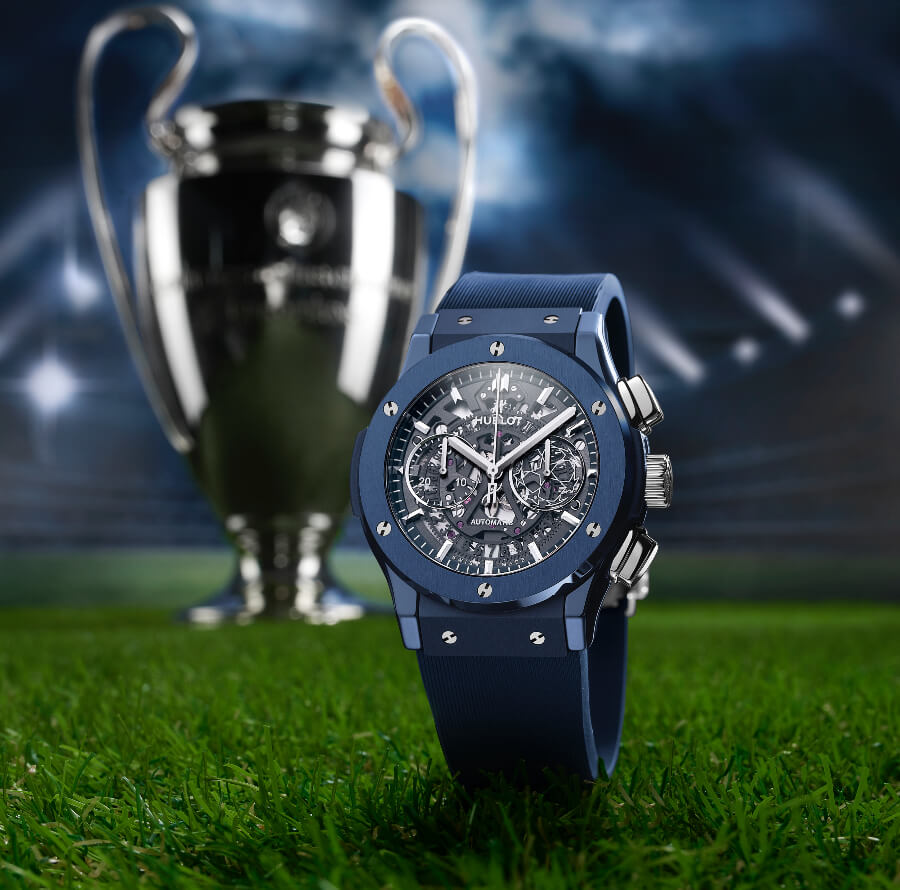 The New Hublot Classic Fusion Aerofusion Chronograph UEFA Champions League