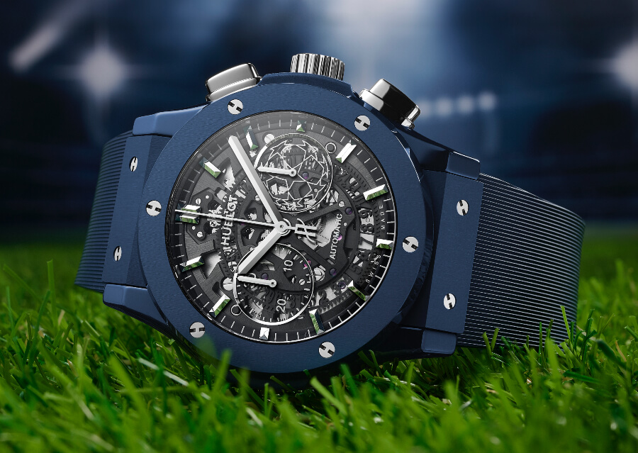 Hublot Classic Fusion Aerofusion Chronograph UEFA Champions League Watch review