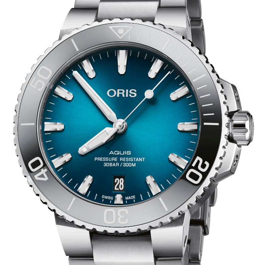 The New Oris Aquis Date 39.5 mm Ref. No. 01 733 7732 4155-07 8 21 05PEB