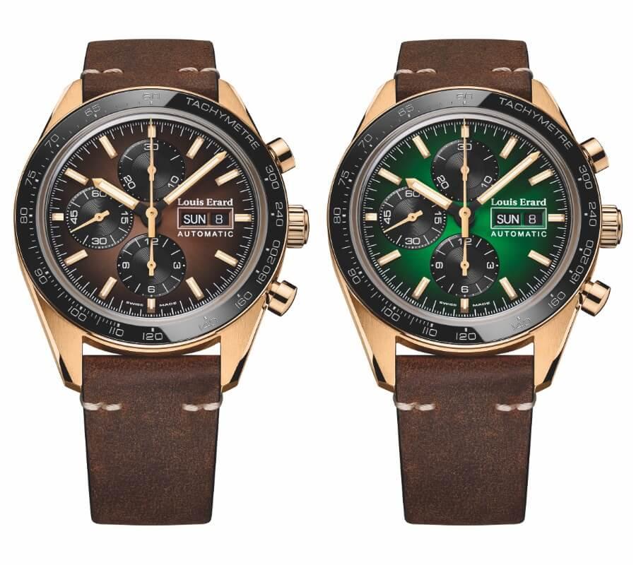 Louis Erard La Sportive Limited Edition Bronze Version